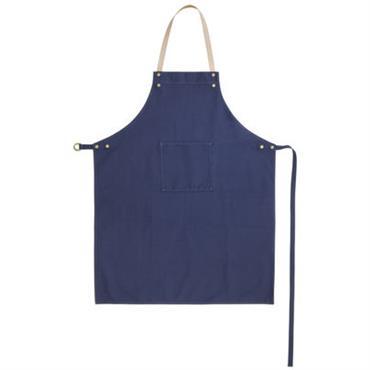 Tablier / Attache cuir - Ferm Living bleu jean