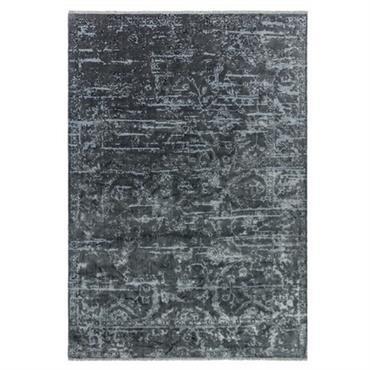 Tapis moderne en Polyester Gris anthracite 200x290 cm