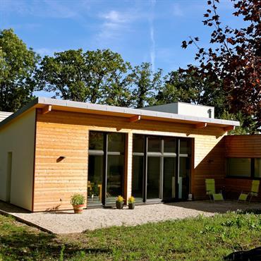Construction clé en main d'une maison individuelle avec un atelier d'artiste.  Domozoom
