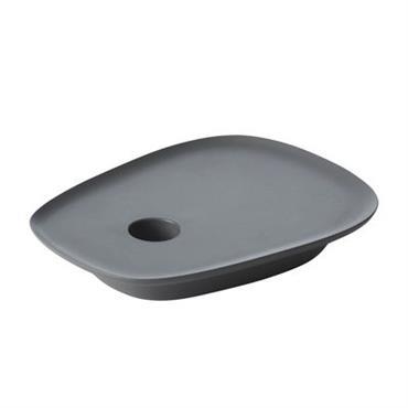 Bougeoir Float / Fonte d´aluminium - Muuto gris anthracite en métal