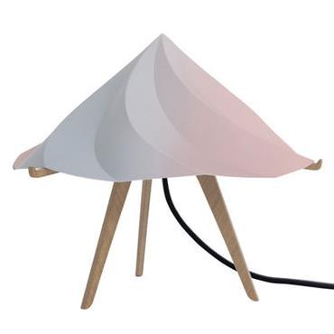 Lampe de table Chantilly Small / H 28 cm - Moustache multicolore