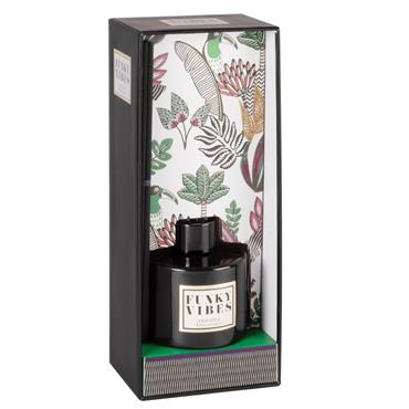 Diffuseur en verre teinté noir parfum épices d'Orient 100ML