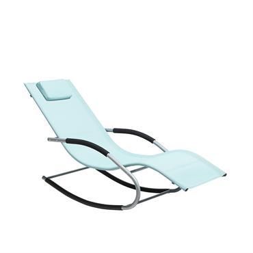 Bain de soleil à bascule vert menthe au design moderne et ergonomique. Pour beaucoup, il n'y a rien de mieux que de trouver la détente en plein air dans votre ...