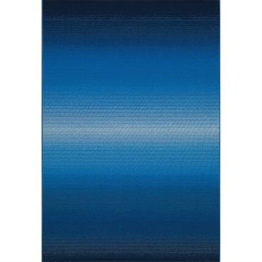 Tapis pour l'intérieur et l'extérieur - bleu 120x180 cm