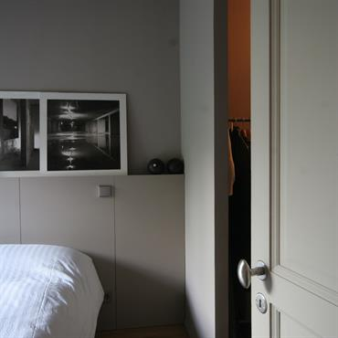 Réhabilitation d'un appartement, 43m², Paris. Conception, maitrise d'ouvrage.  Domozoom