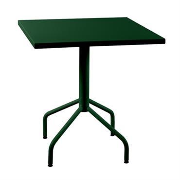 Table en métal carrée rabattable Riviera 800x800