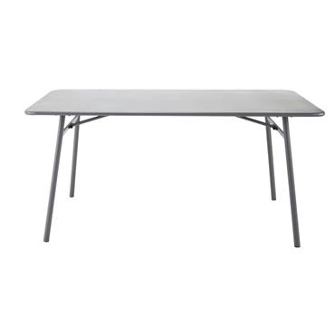 Table de jardin en métal L 160 cm Harry's