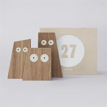 Coffret Designerbox#27 / Décoration ´Les Chouettes´ - Big Game - Designerbox Chêne