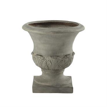 Coupe de jardin en résine grise H 46 cm MEDICIS