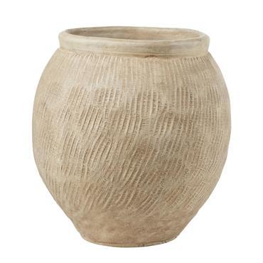 Pot en céramique sable H45