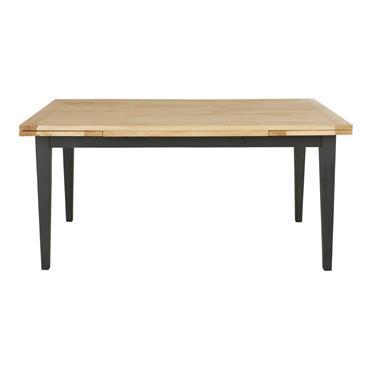 Table à manger extensible en manguier 10 personnes 160/240 Cezanne