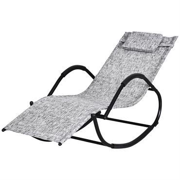 Cette superbe chaise longue à bascule design contemporain s'intègrera parfaitement dans votre jardin ou sur votre terrasse. Son design mêlant élégance, sobriété et modernité sera le nouvel atout charme et ...