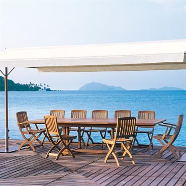 Vive la terrasse couverte ! Aux beaux jours on est ravi de vivre enfin dehors … mais quand s'installent les ... Domozoom