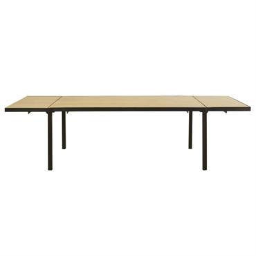 Table à manger extensible en manguier massif 8/12 personnes L180/280 Century
