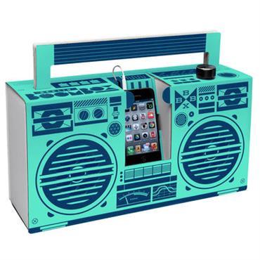 Enceinte nomade Berlin Boombox / Pour Smartphone - Carton - Berlin Boombox