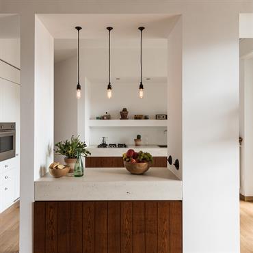 Les plans de travail dans la cuisine et la salle de bains sont proposés dans 2 finitions: Authentique brut vitrifié ... Domozoom