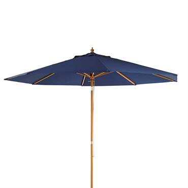 Parasol bleu indigo Palma