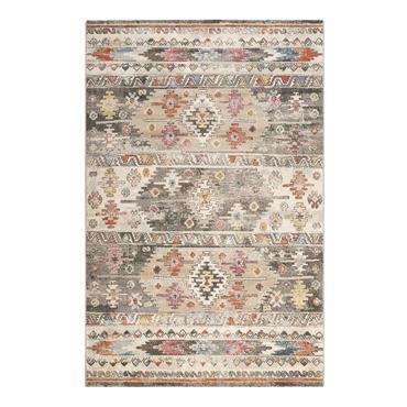 Faux-air de Kilim et tellement intemporel ! Ce tapis tissé de WECONhome, robuste, durable et résistant aux intempéries, donne du style à votre maison. Fibres décontractées, doucement chatoyantes, combinées à ...