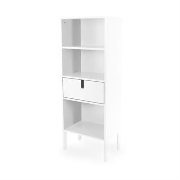 Grande étagère design tiroir et niches DINA