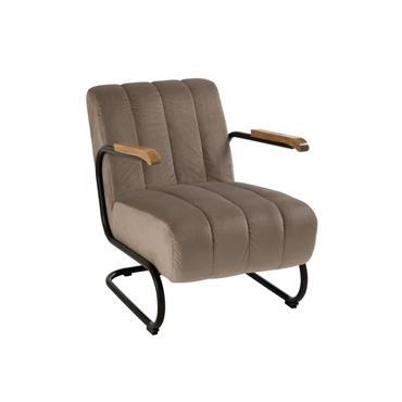 Fauteuil relax lounge en tissu