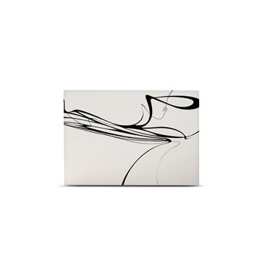 Tête de lit avec housse Blanc 160 cm
