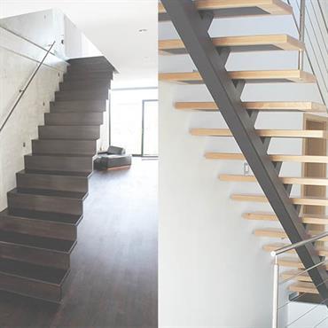 Aménagement et décoration des escaliers Modernes - Domozoom