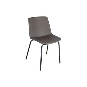 Chaise de salle à manger tapissée HARONA