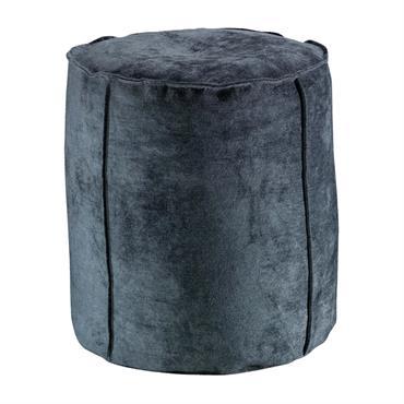 Pouf  en coton ombre 0 x 40 x 42