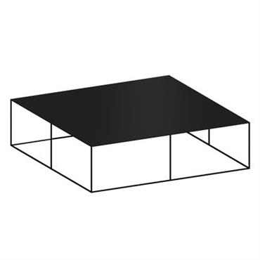 Table basse Slim Irony / 124 x 124 x H 34 cm