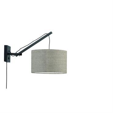 Applique bambou/lin L50cm