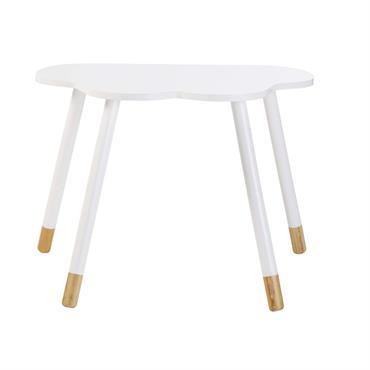 On craque pour la petite table nuage enfant blanche L65 DREAMS ! La forme poétique de son plateau s'associe à un petit air scandinave sur son piétement en pin pour ...