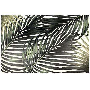 Le tapis en vinyle imprimé feuilles tropicales 100x150 CANOPE n'a qu'une seule intention : vous en mettre plein la vue ! Et ça ne devrait pas être compliqué avec ses ...