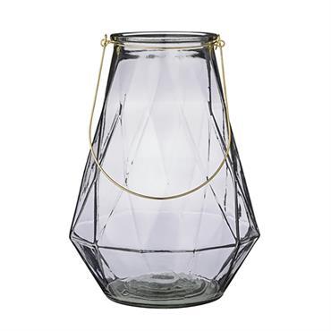 Créez une ambiance chaleureuse et tamisée, avec cette élégante lanterne signée Bloomingville. Son format en hauteur vous permettra de la déposer au sol, ou sur un meuble, en intérieur ou ...