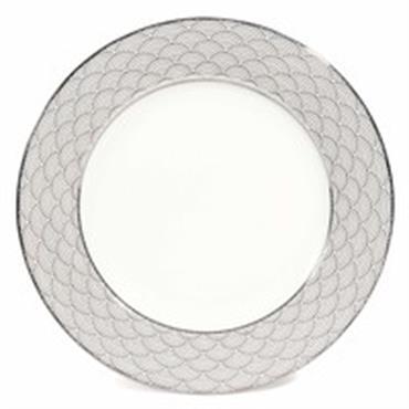 Assiette à dessert motif japonais en porcelaine D 19 cm MILADY