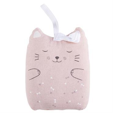 Dans la chambre de votre enfant, troquez votre cale porte disgracieux pour le cale porte chat en coton rose CATS ! Orné d'un nud blanc, ce petit chat à l'air ...