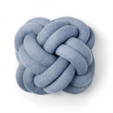 Coussin Knot Bleu - Design House Stockholm