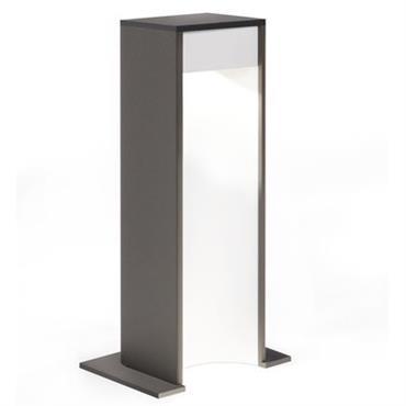 Borne d´éclairage Aula LED / H 26 cm - Delta Light Blanc