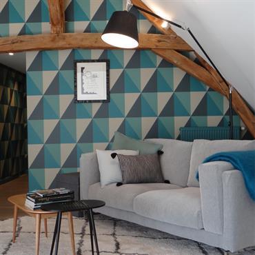 Les propriétaires de cette grande maison avaient déjà confié à Un Amour de Maison l'agencement et la décoration de l'ensemble ... Domozoom
