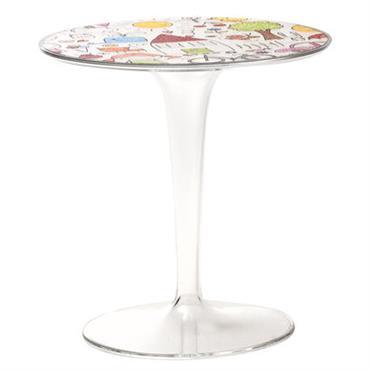 Table enfant Tip Top KIDS / Plateau décoré - Kartell multicolore
