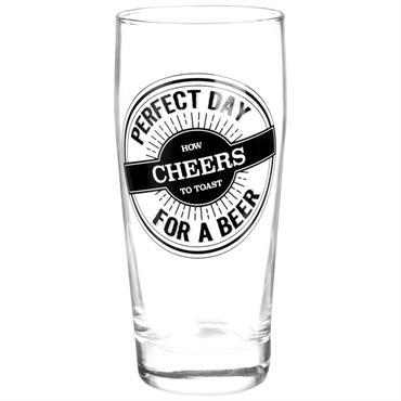 Chope à bière en verre
