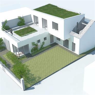 Programme : Restructuration et extension d'une maison Lieu : Gagny Maître d'ouvrage : particuliers Mission : permis de construire Avancement : achevé Surface : 200m²  Domozoom