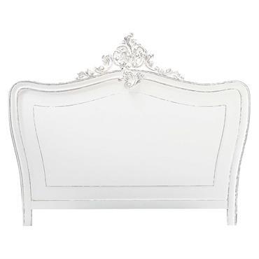 Tête de lit 180 en pin blanc vieilli Comtesse