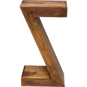 Cette table d'appoint en bois massif est le meuble idéal qui trouve sa place dans toutes les pièces de la maison. Ses dimensions de 50 cm de hauteur sur 30 ...