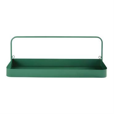 Complétez la déco de la chambre de votre enfant avec l' étagère murale en métal vert SAFARI . Livres, doudous ou figurines y prendront facilement place. Avec son métal vert, ...