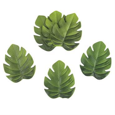 6 dessous de verre feuilles