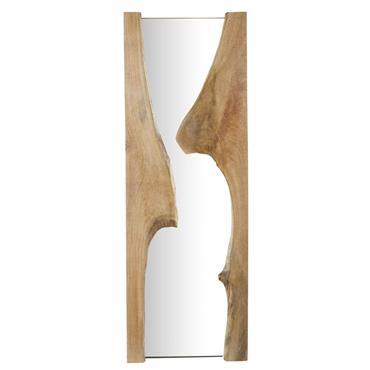 Miroir en manguier 54x153
