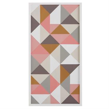 UN LOOK TENDANCE Inspiré du style scandinave, le tableau graphique multicolore égayera vos murs par son imprimé graphique et coloré. DÉTAILS GÉOMÉTRIQUES Ce tableau offre un joli visuel grâce à ...