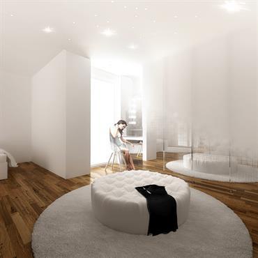 Création d'une suite parentale avec dressing et salle de bains attenante  Domozoom