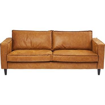 Canapé 3 places en cuir