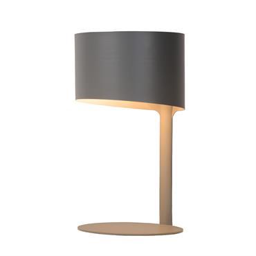 Avec son allure ultramoderne et sa silhouette tout en rondeurs, cette très belle lampe de table KNULLE affiche un design épuré et lumineux. Conçue en un seul bloc, la lampe ...